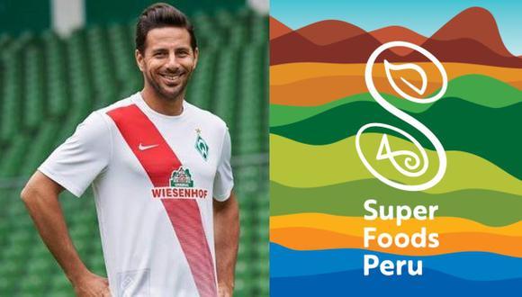 ¿Por qué Claudio Pizarro es imagen de superfoods en Alemania?