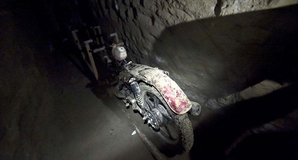 15 de julio de 2015. Presunto túnel de escape del narcotraficante 'El Chapo' Guzmán en la prisión del Altiplano, en Almoloya de Juárez, México. (Foto: AFP)