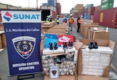 Callao: Sunat incautó cargamento de zapatillas de contrabando valorizado en más de S/ 420 mil