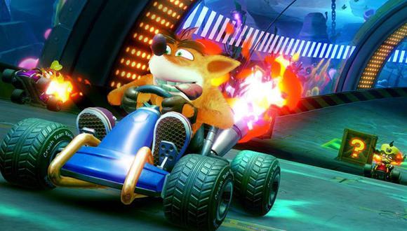 Crash Team Racing Nitro-Fueled estará disponible en PlayStation 4, Xbox One y Nintendo Switch desde el próximo 21 de junio. (Difusión)