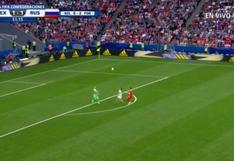 México vs. Rusia: el gol de Lozano tras 'blooper' de arquero Akinfeev