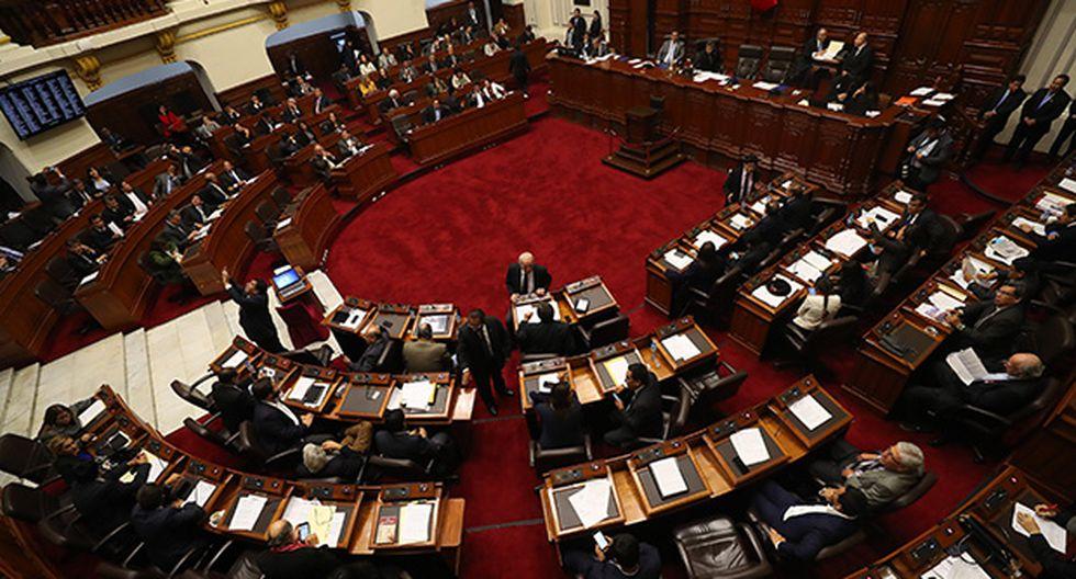 Diversas bancadas se pronunciaron luego de que Fuerza Popular retirase la moción de censura en contra del presidente del Congreso, Daniel Salaverry. (Foto: GEC)