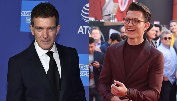 "Tom Holland y Antonio Banderas ruedan ""Uncharted"" en la Costa Brava española. (Fotos: AFP/Chris Delmas)"