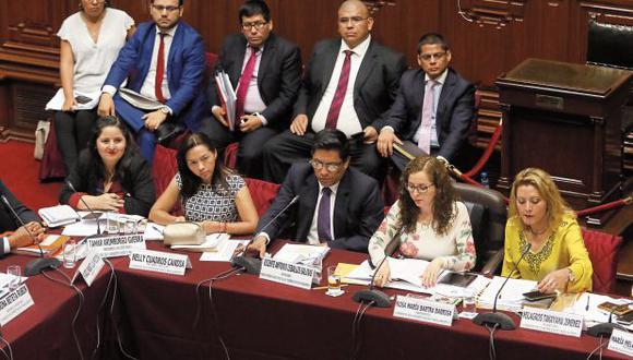 La Comisión de Constitución sesionará este lunes a las tres de la tarde para continuar con el debate de la reforma política. (Foto: Miguel Bellido/ El Comercio)
