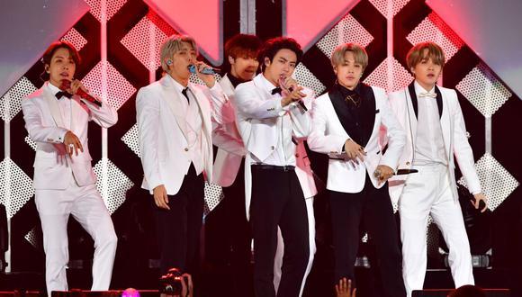 """BTS conquista un nuevo logro en Spotify con """"Black Swan"""". (Foto: AFP)"""