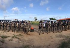 Madre de Dios: Fuerzas Especiales de la PNP y Fuerzas Armadas apoyaron con el traslado de material electoral