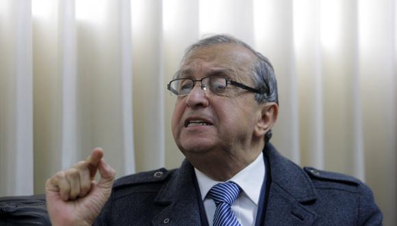 Daniel Mora elaborará el plan de gobierno del Frente Patriótico. (Foto: Nancy Dueñas/GEC)