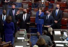 Los demócratas toman el control del Senado de EE.UU.