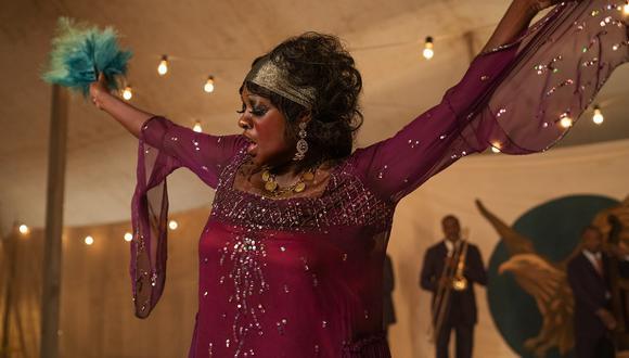 "Viola Davis en ""Ma Rainey's Black Bottom"". (Foto: Netflix)"