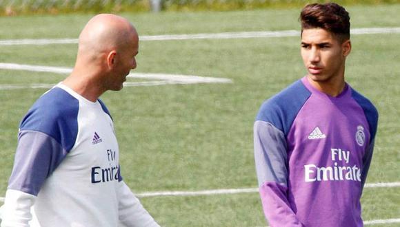 El entrenador del Real Madrid se encuentra bastante incómodo por el deficiente rendimiento de un jugador que actúa como marcador de punta derecho. Fue el principal responsable del gol del Leganés. (Foto: AFP)