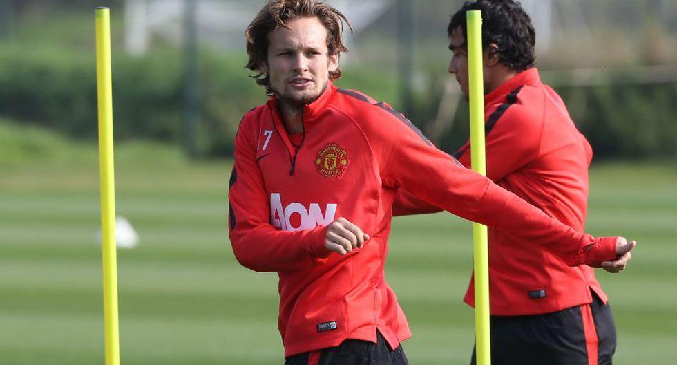 Radamel Falcao entrenó y fue presentado en el Manchester United - 5