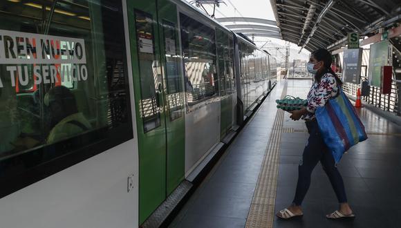 Actualmente se aplican medidas para evitar los contagios en las estaciones de la Línea 1 del Metro de Lima. (Foto: César Campos/GEC)