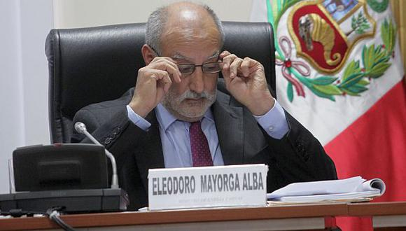 Eleodoro Mayorga será interpelado esta tarde en el Congreso