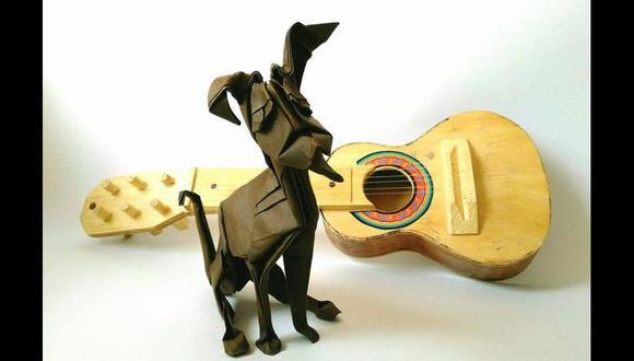Trabajo de Roberto Romero, organizador de la XVIII Convención Internacional de Origami, realizada en Cusco. [Foto: Facebook de la Asociación Origami Cusco]