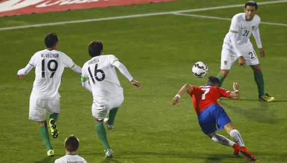Alexis Sánchez: golazo de 'palomita' ante Bolivia por la Copa