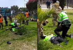 Callao: policía se encuentra en estado de coma tras recibir golpiza en intervención a sujetos que jugaban fulbito
