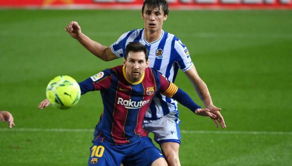 El argentino se resintió de unas molestias, señala la prensa española. (Foto: AFP)