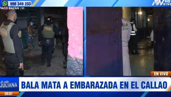 La Policía aplicó el plan cerco en la zona y encontró a tres sujetos en una vivienda ubicada a media cuadra de la escena del crimen. (ATV)