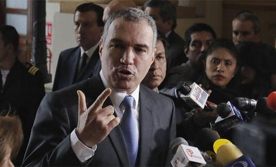 """Salvador del Solar dijo que """"nadie forzó al Congreso a que dé la confianza"""". (Foto: GEC)"""