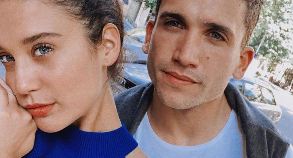 María Pedraza y Jaime Lorente. (Foto: Instagram)