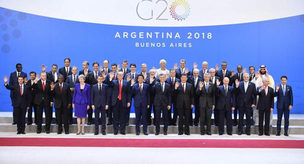 El G20 agrupa a las principales economías avanzadas y en desarrollo, supone el 90 % de la economía y dos tercios de la población mundial. (Foto: Archivo)
