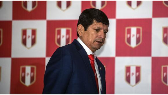 Agustín Lozano ya ha cumplido quince meses como presidente en funciones de la Federación Peruana de Fútbol. (Foto: GEC)