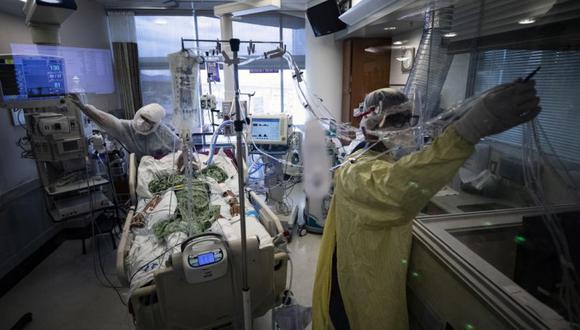 Coronavirus en Estados Unidos | Últimas noticias | Último minuto: reporte de infectados y muertos hoy, domingo 09 de mayo del 2021 | Covid-19. (Foto: EFE/EPA/ETIENNE LAURENT).