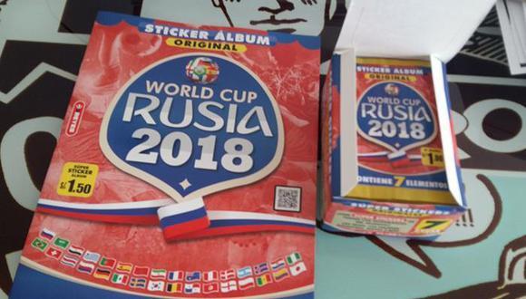 El álbum oficial del mundial, Panini, debe competir contra el álbum 3 Reyes, que no cuenta con la licencia. (Foto: Fútbolperuano.com)