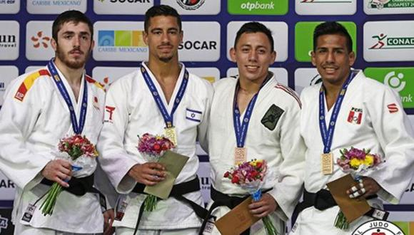 Juan Postigos, de 28 años, ganó una nueva medalla para el Perú. (Foto: IJF)