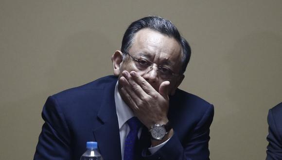 Edgar Alarcón, presidente de la Comisión de Fiscalización, sostuvo que de presentarse una moción para apartarlo de grupo, esta se abordará de manera transparente. (Foto: GEC)