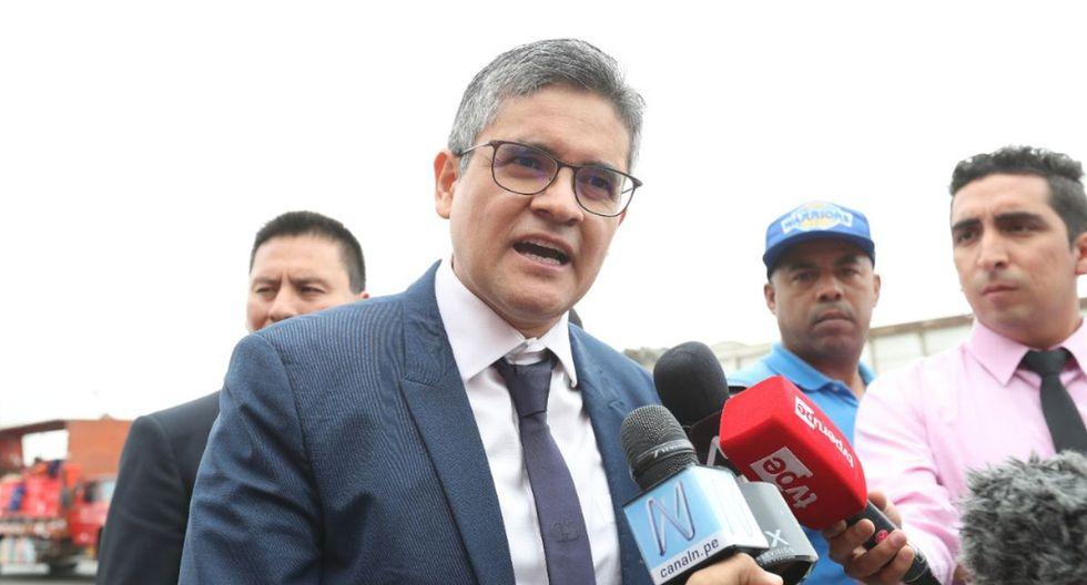 Fiscal José Domingo Pérez convocó a una reunión en la sede de la fiscalía. (Foto: Rolly Reyna/GEC)