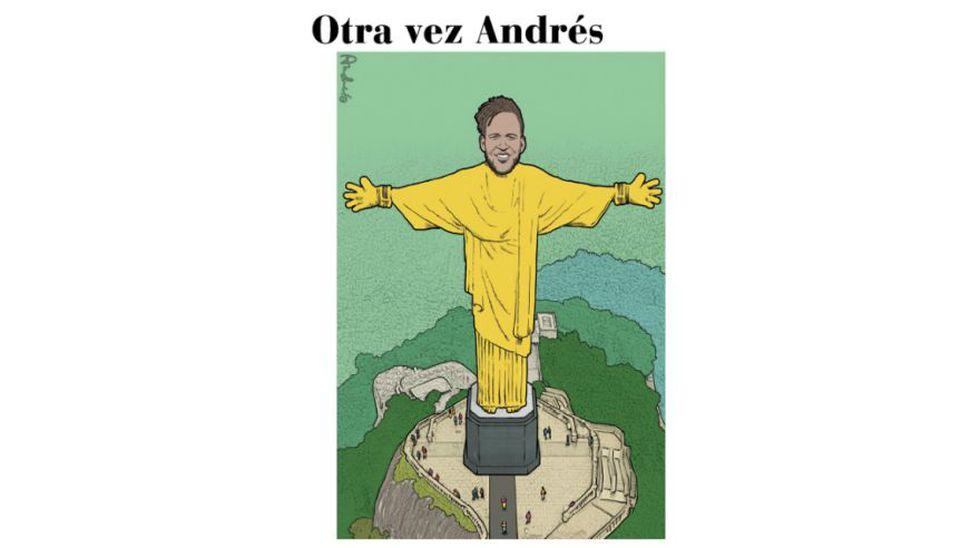Otra vez Andrés: así vemos todos en el Perú a Pedro Gallese, según la mirada de Edery.