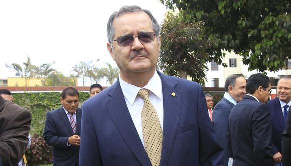 Marco Tulio Falconí adelantó que recurrirá a la vía judicial si no asume como miembro titular de la JNJ. (Foto: GEC)