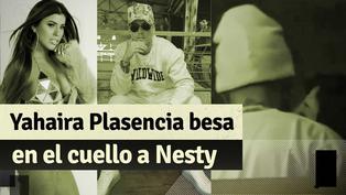Yahaira Plasencia fue ampayada besando en el cuello a Nesty