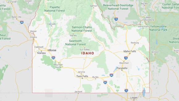 El Instituto Geológico de Estados Unidos reportó un fuerte sismo en Idaho. (Foto: Google Maps)