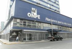 Elecciones 2021: ONPE oficializa candidaturas de 24 partidos para comicios internos