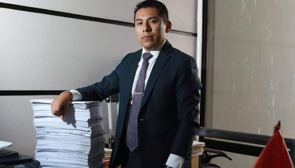 Procurador del Callao, Engie Herrera, fue nombrado en el cargo en noviembre del 2018. La incautación de su CPU fue la base para que sea incluido en la investigación.
