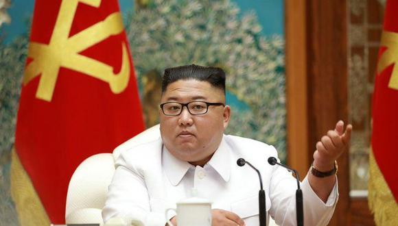 El líder norcoreano, Kim Jong Un. (KCNA vía REUTERS).