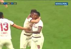 Universitario vs. Atlético Grau: Luis Urruti anota un golazo desde media distancia para el 1-1 | VIDEO