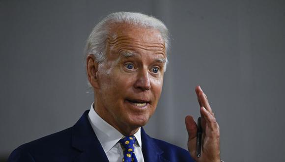 Joe Biden, candidato demócrata a para las elecciones en Estados Unidos. (Foto: ANDREW CABALLERO-REYNOLDS / AFP).