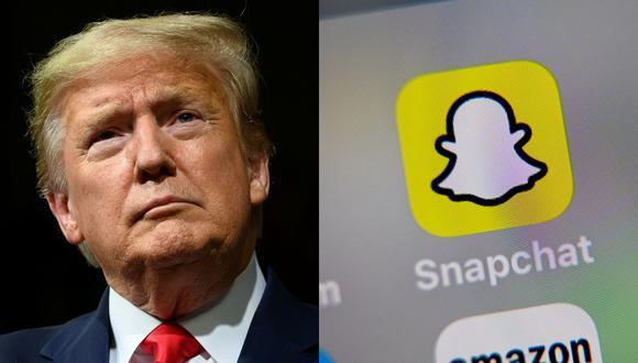 """""""Actualmente no estamos promocionando el contenido del presidente en la plataforma Discover de Snapchat"""", explicó la red social. (Foto: Reuters)"""
