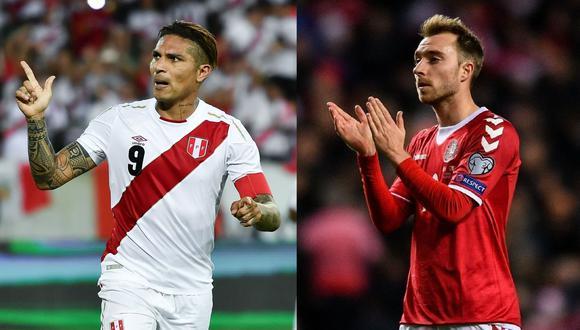 Perú vs. Dinamarca: se enfrentarán en la primera fecha del Grupo C de Rusia 2018. (Foto: Reuters/AFP)