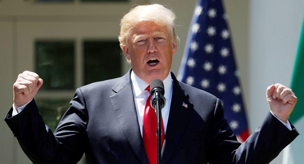 Donald Trump, presidente de Estados Unidos. (Foto: Reuters/Kevin Lamarque)