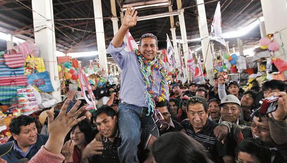 Humala ganó las elecciones presidenciales del 2011. Actualmente, el ex presidente es investigado por la fiscalía por los aportes que recibió para sus campañas del 2006 y 2011. (Foto: Juan Ponce/Archivo El Comercio)