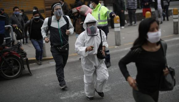 El Perú podría sufrir un rebrote de sus casos de coronavirus tras el término de la cuarentena | Foto: Anthony Niño de Guzmán GEC