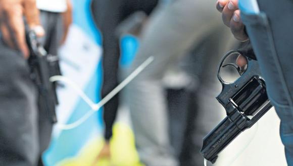 Trujillo: retienen a tres escolares con una réplica de arma de fuego