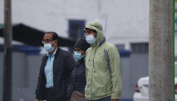 Especialista del Senamhi informó que para lo que resta de junio se prevé que las temperaturas mínimas oscilen entre los 14°C y 19°C. (Foto: El Comercio)