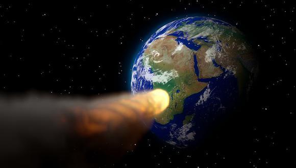 Asteroide cercano a la Tierra. (Imagen referencial: Pixabay)