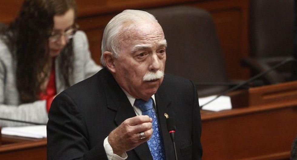 """Carlos Tubino dijo que """"debe preocupar"""" que el juez Aldo Figueroa se haya inhibido del caso Keiko Fujimori """"por presión"""" . (Foto: GEC)"""
