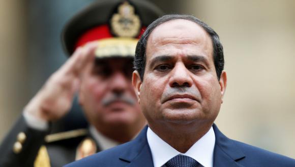 Abdel Fatah Al Sisi, presidente de Egipto. (Foto: Reuters/Charles Platiau)